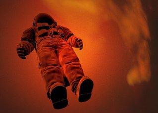 Space travel, conceptual illustration