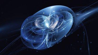 Quantum universe, conceptual illustration2