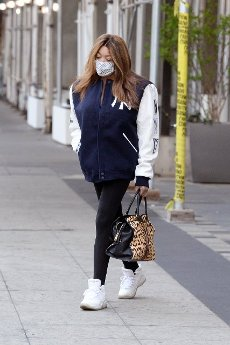 Wendy Williams is seen leaving her New York City apartment on her way to the Wendy Williams Show in New York City Pictured: Wendy Williams Ref: SPL5222262 190421 NON-EXCLUSIVE Picture by: Elder Ordonez \/ SplashNews.com Splash News and