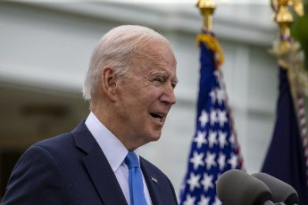 President Joe Biden gives remarks on the new Covid-19 Centers for Disease Control mask guidelines in the Rose Garden, at the White House in Washington, DC on Thursday, May 13, 2021. Fully vaccinated people no longer need to wear a face mask or stay six feet away from others in most settings, whether outdoors or indoors, the Centers for Disease Control and Prevention said in updated public health guidance released Thursday. Photo by Tasos Katopodis