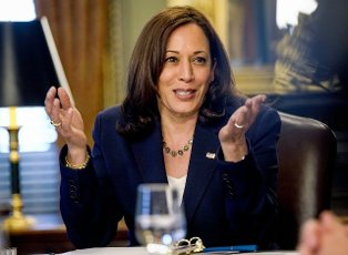 Vice President Kamala Harris delivers remarks during the Inaugural Meeting of the Worker Organizing and Empowerment Task Force at the Vice Presidents Ceremonial Office on Thursday, May 13, 2021. The Task Force was formed to mobilize the federal governments policies and programs to provide workers in the private sector as well as federal, state and local governments with greater opportunities to organize and collectively bargain with their employers. Photo by Jemal Countess